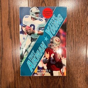 NWOT {Troy Aikman Steele Young} Book